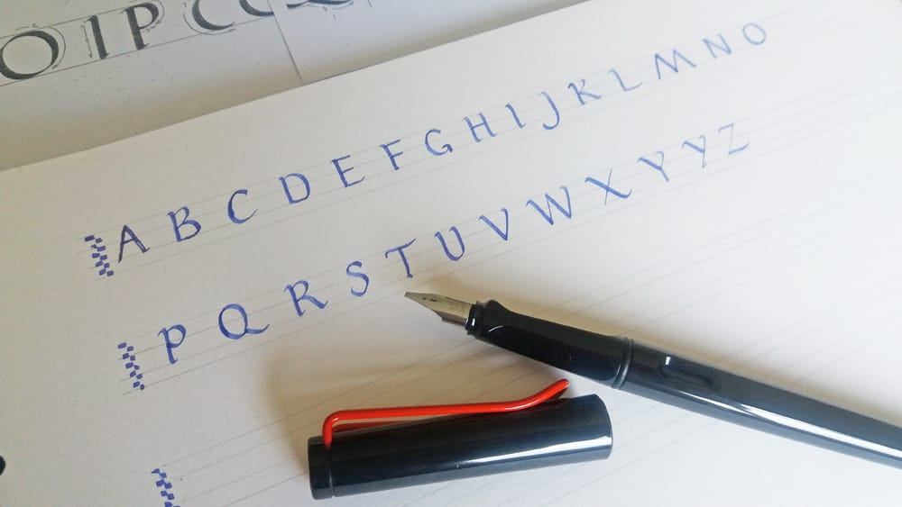 Calligraphy Style: Roman Capitals
